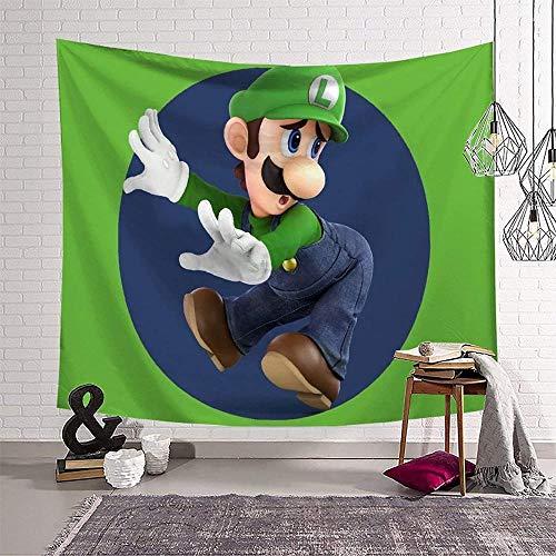 A-Generic Super Mario Pattern Print Tapisserie für Wände Schlafzimmer Tapisserie Zubehör (130 x 150 cm)-Muster-10_(180 x 230 cm)