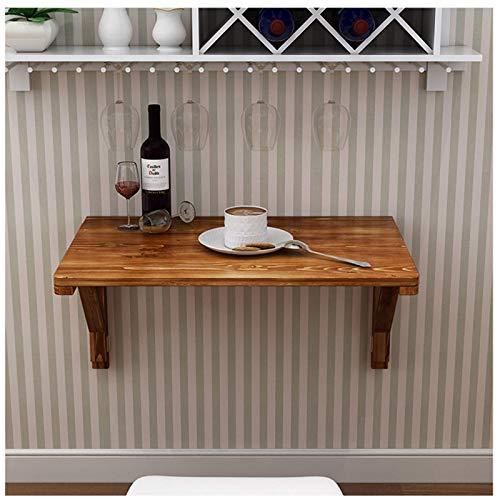 GLF Mesa plegable, mesa de comedor montada en la pared, mesas de terraza, escritorio de casa, mesa de trabajo resistente, resistente al agua y resistente al desgaste, estable y segura, 50 x 30 cm.
