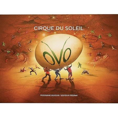 Cirque Du Soleil OVO Official Souvenir Program