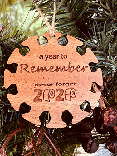 2020 Commemorative Remember Coronavirus Christmas Ornament