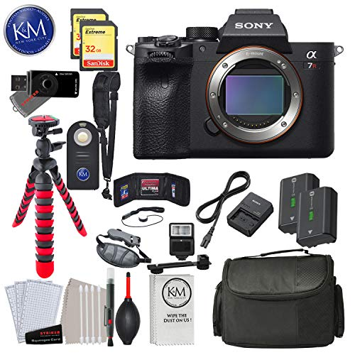 %9 OFF! Sony Alpha a7R IV Mirrorless Digital Camera - Body Only with Deluxe Striker Bundle: Includes...