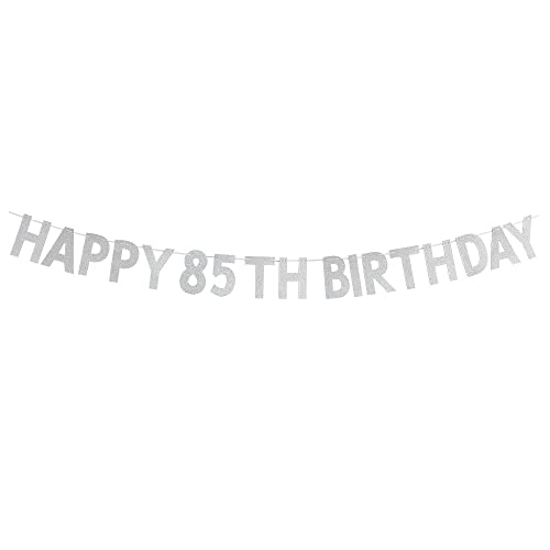 Happy 85th Birthday Banner