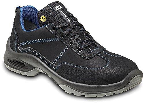 STEITZ SECURA Sicherheits-Halbschuh Sicherheits-Schuh Arbeitsschuhe ESD AL742 PLUS S2 SRC - EN ISO 20345 - Mehrweitensystem - Größe: 45
