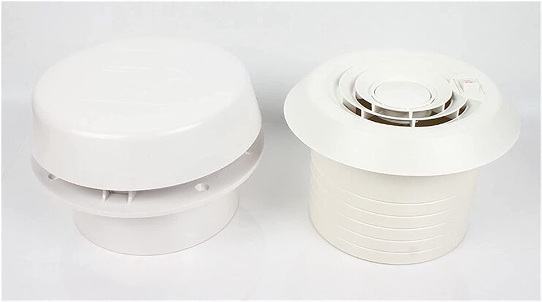 MiaoMiao Ventilación Redonda de ventilación de Aire del Techo del Remolque para RV Caravana Mini Vent Fan Speller 24V Service