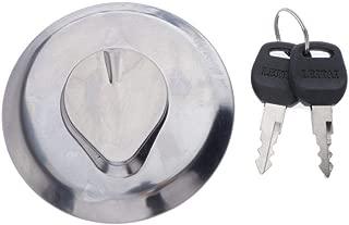 Fuel Gas Tank Cap Lock Cover with Keys for Honda CB1000C CB 650 CB750 CM400 CM450 GL500 GL650