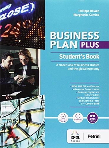 Business plan plus. Student's book-Companion book. Per le Scuole superiori. Con e-book. Con espansione online. Con DVD-ROM [Lingua inglese]