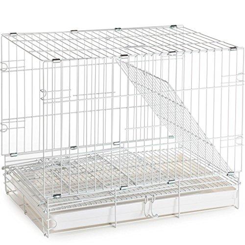 Prevue Hendryx Travel Bird Cage 1305 White, 20-Inch by 12-1/2-Inch by 15-1/2-Inch