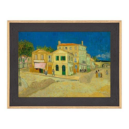 Póster y impresión con marco moderno - Van Gogh - La casa amarilla