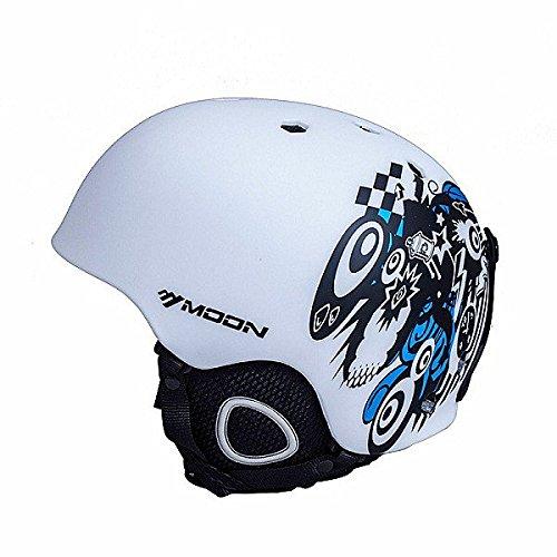PhilMat La Sicurezza di elmetto da Sci di Luna sciando l'elmetto Snowboard Lo Sport è a Capo di elmetti di Bicicletta di Protezione