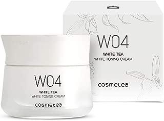 COSMETEA Korean White Tea Brightening Moisturizer Cream for Face with Vitamin C, Niacinamide & Amino Acids, Care Your Skin Moisturizing, Anti-Aging, Anti-Wrinkle, Dark Spot Corrector