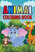 Animal Coloring Book: ages 3-8