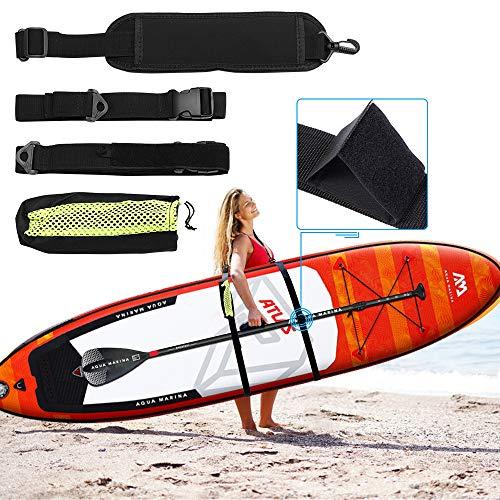 Meanhoo Kayak Carrying Strap, 1 Pcs Kayak Carry Strap, Paddle Board Carrying Strap, Paddle Board Carrier for Surfboard, Paddle Board, Kayak
