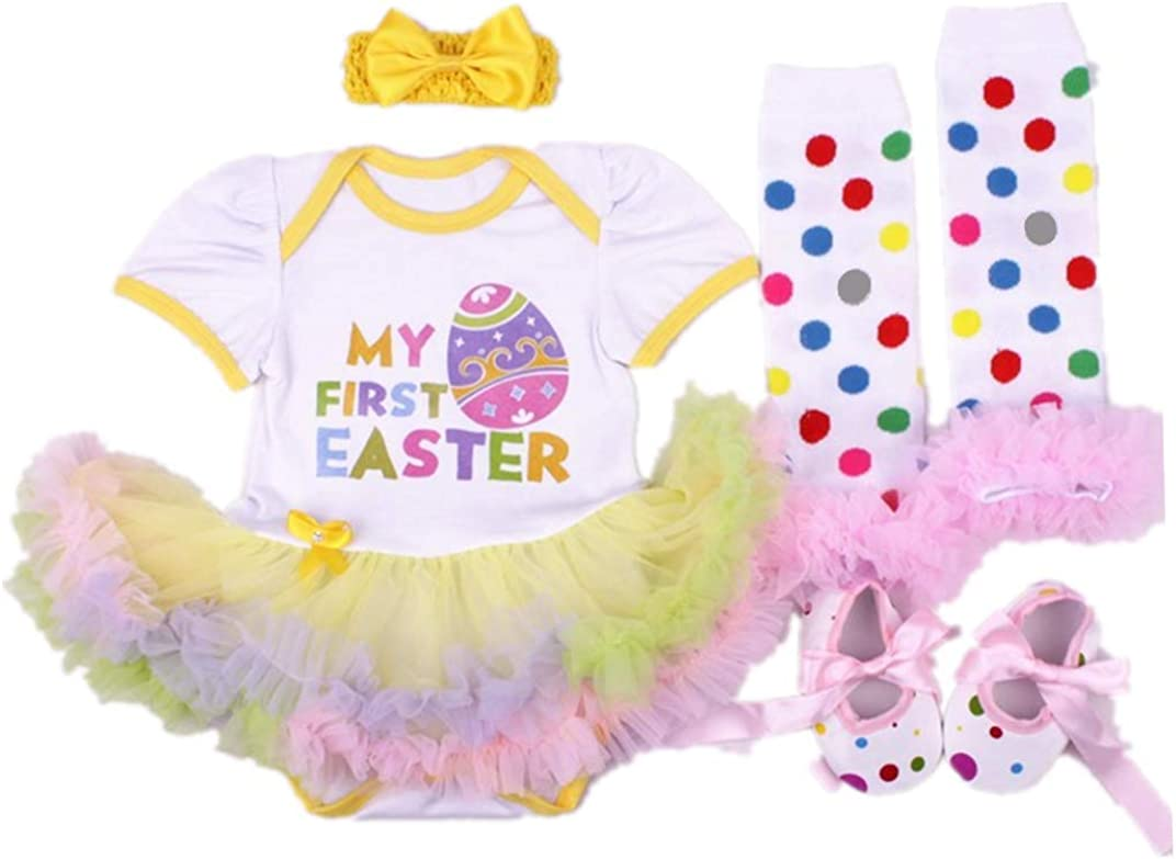 Easter Set for Baby Teegy Togs New Baby Gift Unicorn Baby Set Baby Diaper Cover and Dress Spring Baby Set