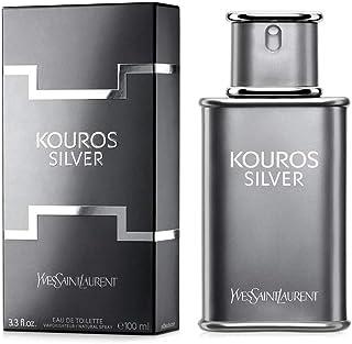 Kouros Silver by Yves Saint Laurent for Men Eau de Toilette 100ml