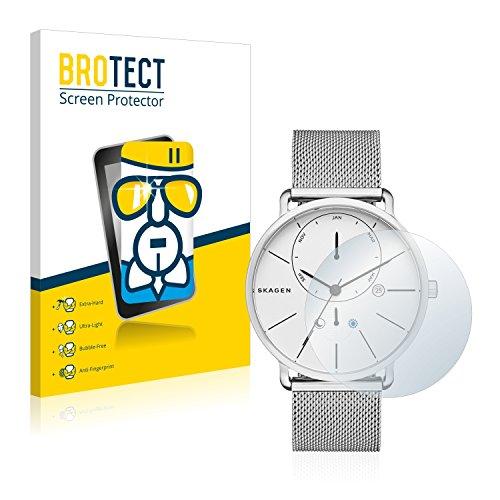 [1 Pack] Protector Pantalla Skagen Hagen Connected Hybrid Smartwatch (42mm) Cristal Vidrio - AirGlass Glass Screen Protector