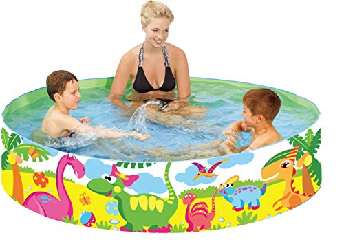 "Taylor Toy Snapset Swimming Pool for Kids | Toddler and Baby Pool | 71"" Diameter x 15"" Depth, 203 Gallon Kiddie Pool 