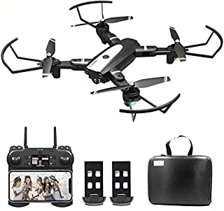 B-Qtech Drone with Camera, 4K HD Foldable WiFi RC Quadcopter for Adults & Kids, 30 Min Long Flight Time, One Key Return, L...