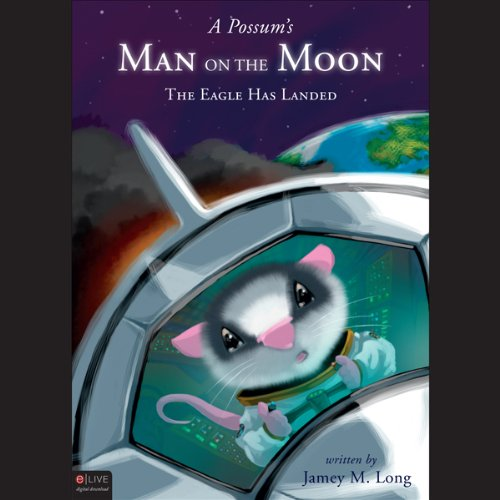 A Possum's Man on the Moon  audiobook cover art