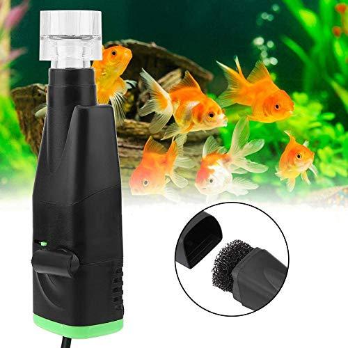 Pssopp Aquarium Skimmer Elektrische Aquarium Oberflächenabsauger Skimmer Mini Auto Aquarium Entferner Öl Film Werkzeug Aquarium Filter für Kies Oberfläche Protein Öl Skimmer