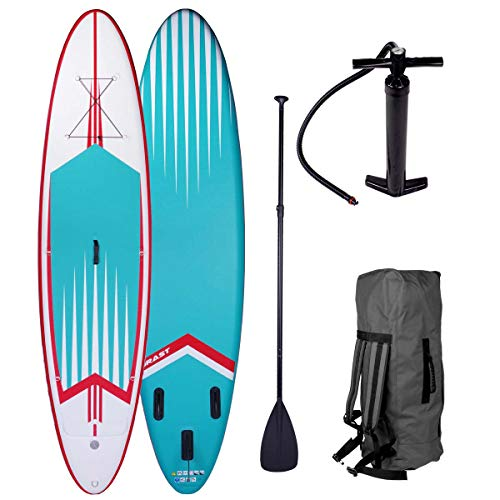 BRAST Stand up Paddle Gonflable Adulte Rigide Pro...