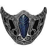 Mortal Kombat Mask Scorpion / Sub-Zero New Version Resin Halloween Cosplay Collectors Edition