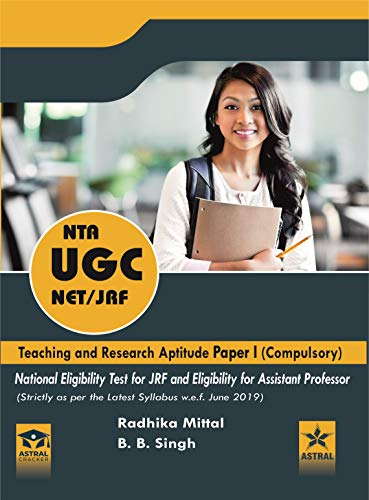 NTA UGC NET/JRF Teaching and Research Aptitude Paper I (Compulsory) (Strictly as per the Latest Syllabus w.e.f. June 2019) (9789388982924)