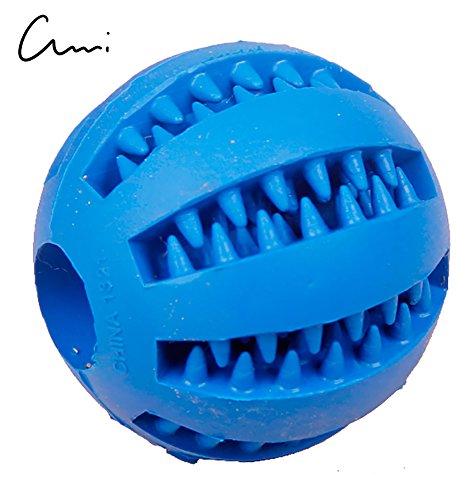 CiMi Balle à Marcher Chien 7cm Jouet Dressage Balle Chien Friandise Ballon pour Grand et Petit Chien Convient pour Chiots Fabriqué en Caoutchouc Naturel