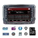 Stereo Home 7 Zoll 2 Din Autoradio Naviceiver für VW mit DVD CD GPS USB SD CANBUS FM AM RDS Video Lenkrad Bedienung Bluetooth Wince6.0 SWC 8GB Kart