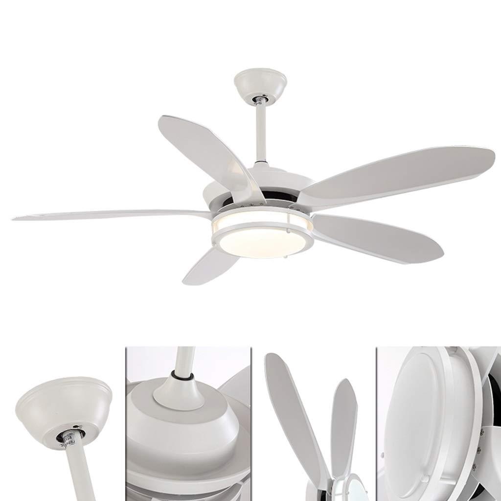 Lamparas de techo Araña, fuente de luz LED Fan Chandelier, Simple ...