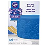 Wilton Decorator Preferred Blue Fondant, 24 oz. Fondant Icing