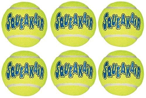 KONG Air Dog Squeak air Tennis Ball Dog Toy,...