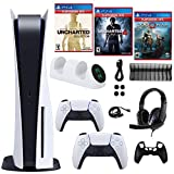 Trexonic PS 5 with Nathan Drake, A Thief's End and God of War Greatest Hits Games and Gaming Accessories Kit