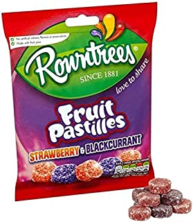 Rowntree's Red and Black Fruit Pastilles Sharing Bag 150g x2 Bags