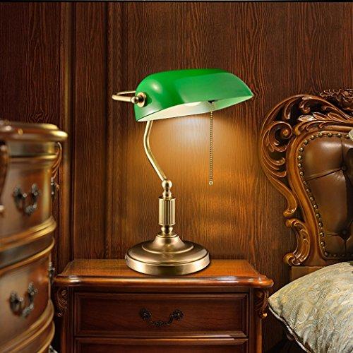 Bonne chose lampe de table Lampe de cuivre rétro lampe de chevet lampe de table européenne