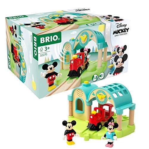 BRIO 32270 Micky Maus Bahnhof mit...