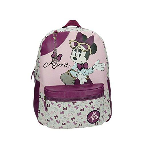 Disney Minnie Glam Sac Scolaire, 42 cm, 19,4 L, Rose 3292351