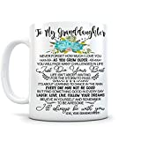 memory gift - To My Granddaughter - I Love You, As You Grow Older, 11 Oz Ceramic Coffee Cup - Birthday, Graduation Gifts, Best Grandma Gifts For Granddaughter, Gifts For Granddaughter, VT18