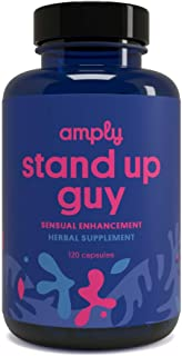 Amply Blends | Stand Up Guy | Herbal Supplement | Bedroom Support Capsules | 120-Count