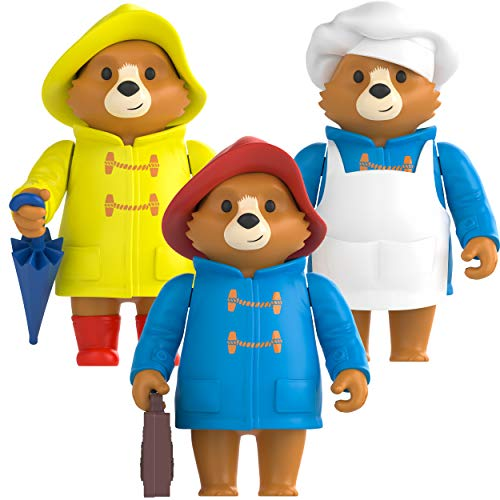 Paddington Bear Toy Bus - Official Adventures Of Paddington TV Playbus - Toy Buses for Toddlers - London Toy Bus - Paddington Bear Toy - Early Learning and Development Toys by Rainbow Designs