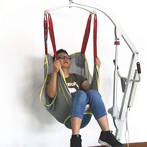 513diNXd2YL - QBWASY Cinturón de Transferencia médica de elevación,Paciente Cinturón De Transferencia para Bariátrico, Enfermería,Anciano, Discapacitado, Cuerpo Completo Y Postrado En Cama