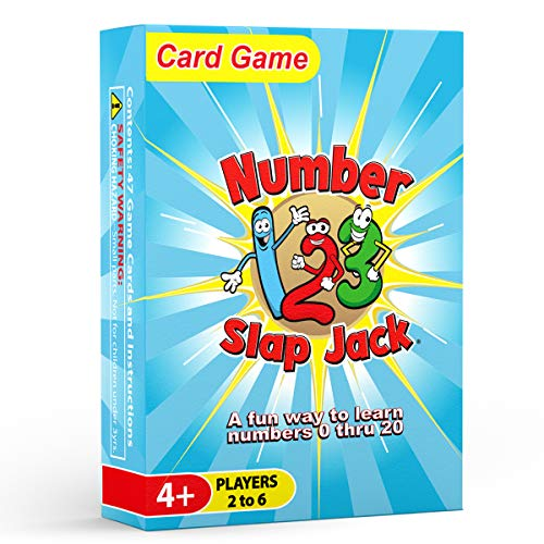 Number Slap Jack - a Fun Number Recognition and Counting Game
