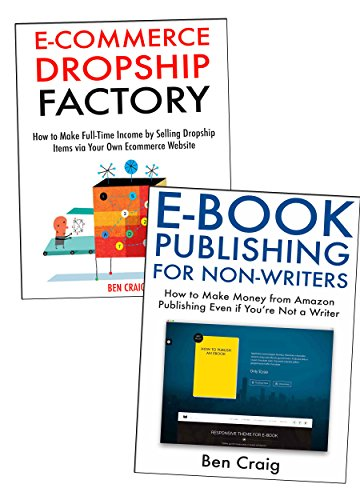 Two Online Business Ideas for Newbies: How to Make Extra Income by Publishing Ebooks & Sell Dropship Products Online (English Edition)