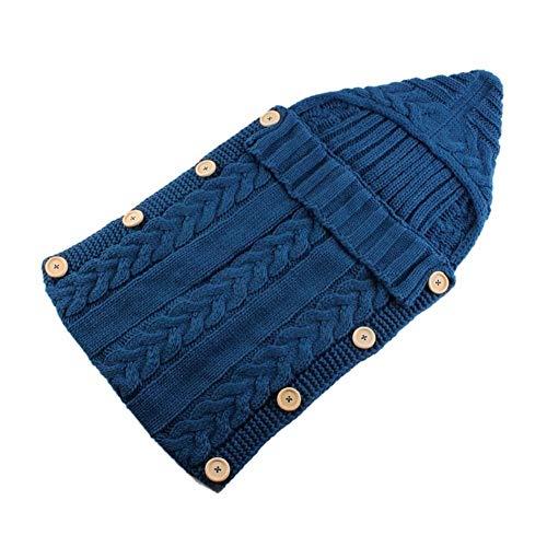 Crystallly pasgeboren baby baby wrap doek gebreide haak deken slaapzak eenvoudige stijl eenvoud klassieke mode stijl