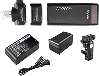 Godox AD200PRO TTL pocket flash Kit, wireless - Black
