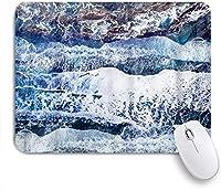 NIESIKKLAマウスパッド ビーチオーシャンウェーブビーチサンドシーサイドサンセットテーマ ゲーミング オフィス最適 高級感 おしゃれ 防水 耐久性が良い 滑り止めゴム底 ゲーミングなど適用 用ノートブックコンピュータマウスマット