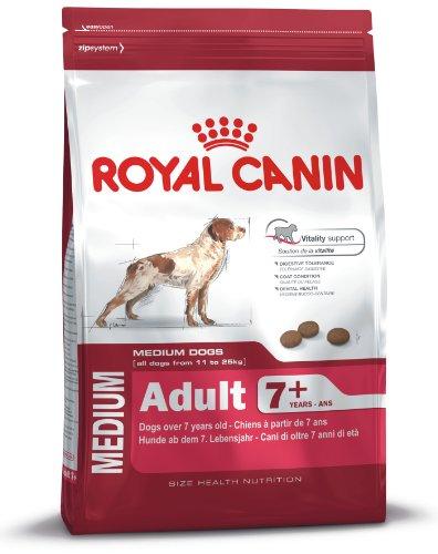 Royal Canin Medium Adult, 7+, 15 kg, 1er Pack (1 x 15 kg Packung), Hundefutter