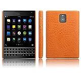 Telefon Kasten für Blackberry Passport Q30 PU Leder