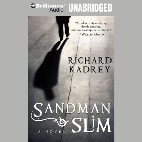Sandman Slim audiobook cover art