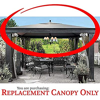 The Outdoor Patio Store Replacement Canopy Tiverton Gazebo High-Grade 300D Polyester