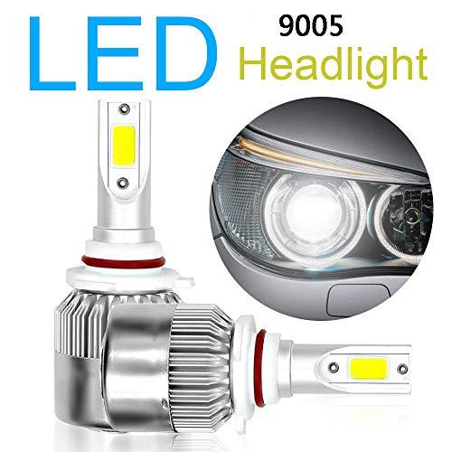 Mago 36 W LED-koplamp, 3800 lm, superhelder, 6000 K, koudwit, vervanging voor halogeenlicht, waterdicht, vervanging voor LED-lampen, 12 V-24 V